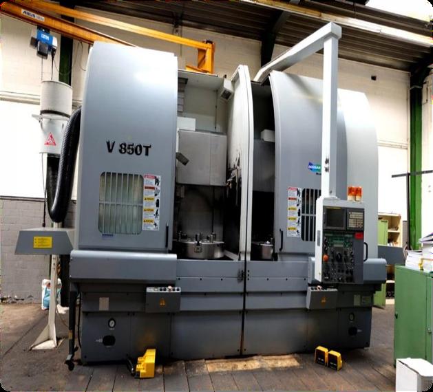 Doosan V 850 T CNC vertical lathe